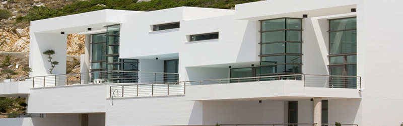Luxury villas on the Costa Blanca beach