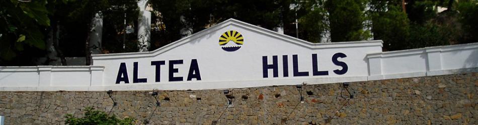 Alquiler de chalets en Altea Hills