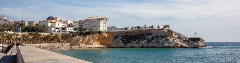 Holiday villas at Altea