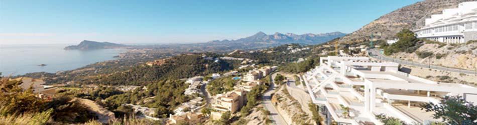 Alquiler de villas con piscina en Altea Hills