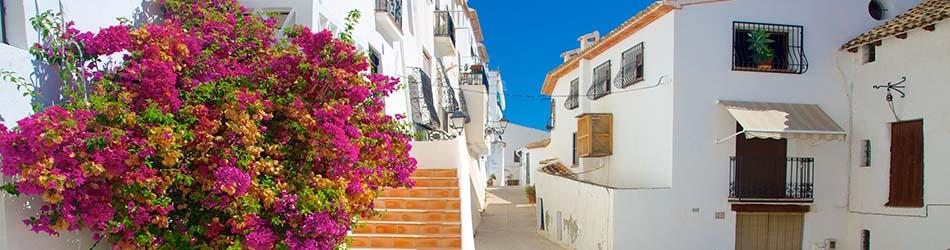 Luxury villas on the beach Altea