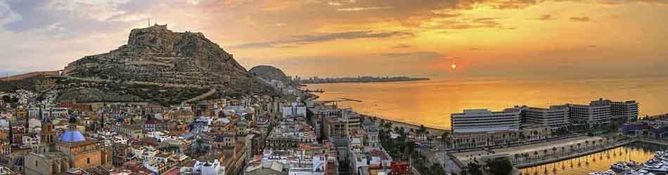 Alquiler de chalets en Alicante