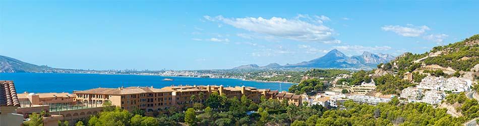 Luxury villas on the beach Altea Hills