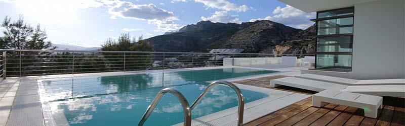 Alquiler de casas con piscina Altea